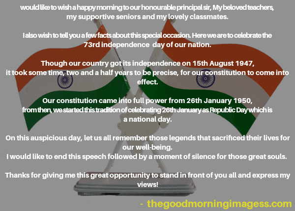 independence day speech in english 2020