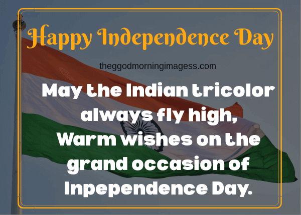 independence day speech for students in english short